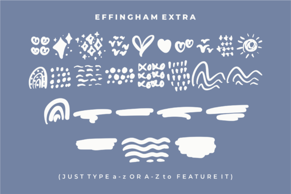 Print on Demand: Effingham Script & Handwritten Font By Azetype - Image 4