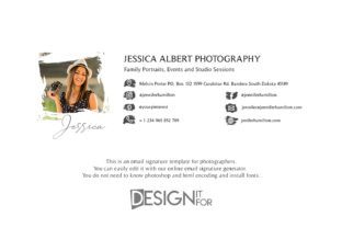Print on Demand: Email Signature Template with Logo Graphic Email Templates By DesignItfor