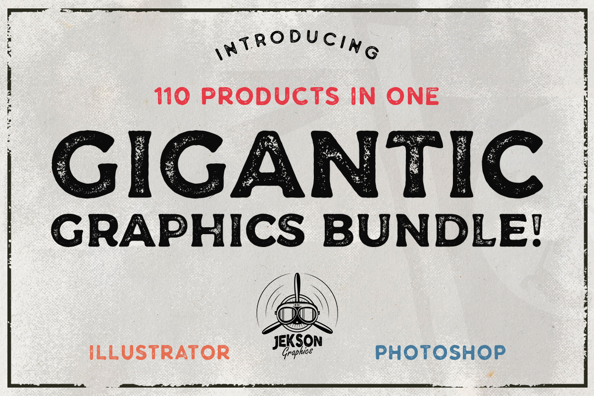 Download Free Gigantic Graphic Bundle Bundle Creative Fabrica for Cricut Explore, Silhouette and other cutting machines.