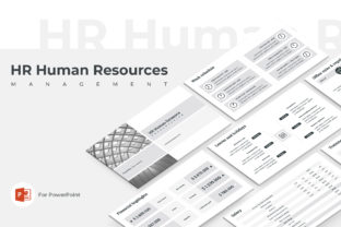 HR Human Resources PowerPoint Template Graphic Presentation Templates By JetzTemplates