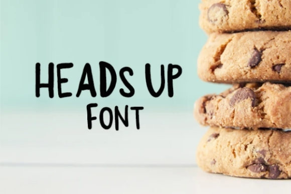 Print on Demand: Heads Up Display Font By carina2