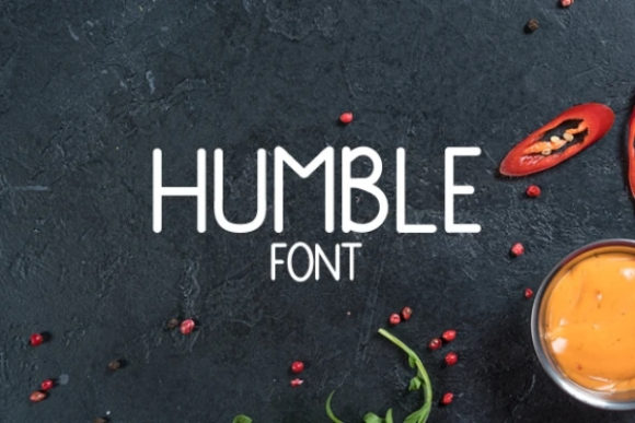 Print on Demand: Humble Display Font By carina2