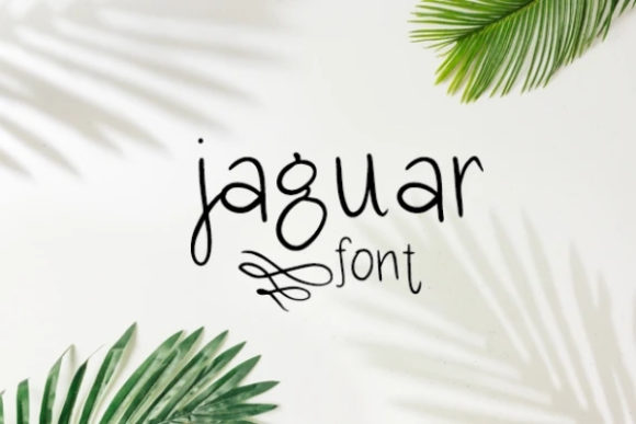 Print on Demand: Jaguar Serif Font By carina2