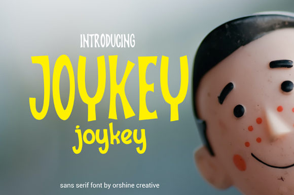 Print on Demand: Joykey Display Font By orshinecreative