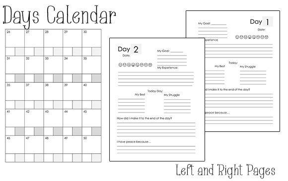 Print on Demand: KDP Interior | 50 Day Goal Journal Graphic KDP Interiors By Kathryn Maloney