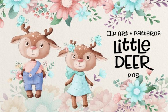 Print on Demand: Little Deer Graphic Illustrations By nicjulia - Image 1
