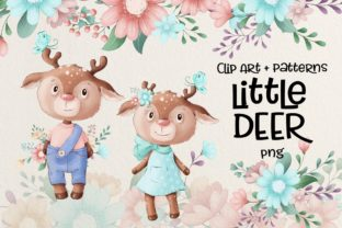 Little Deer Graphic Illustrations By nicjulia