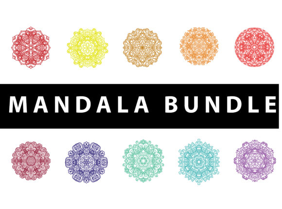 Download Free Mandala Pack Vector Illustration Concept Graphic By SVG Cut Files