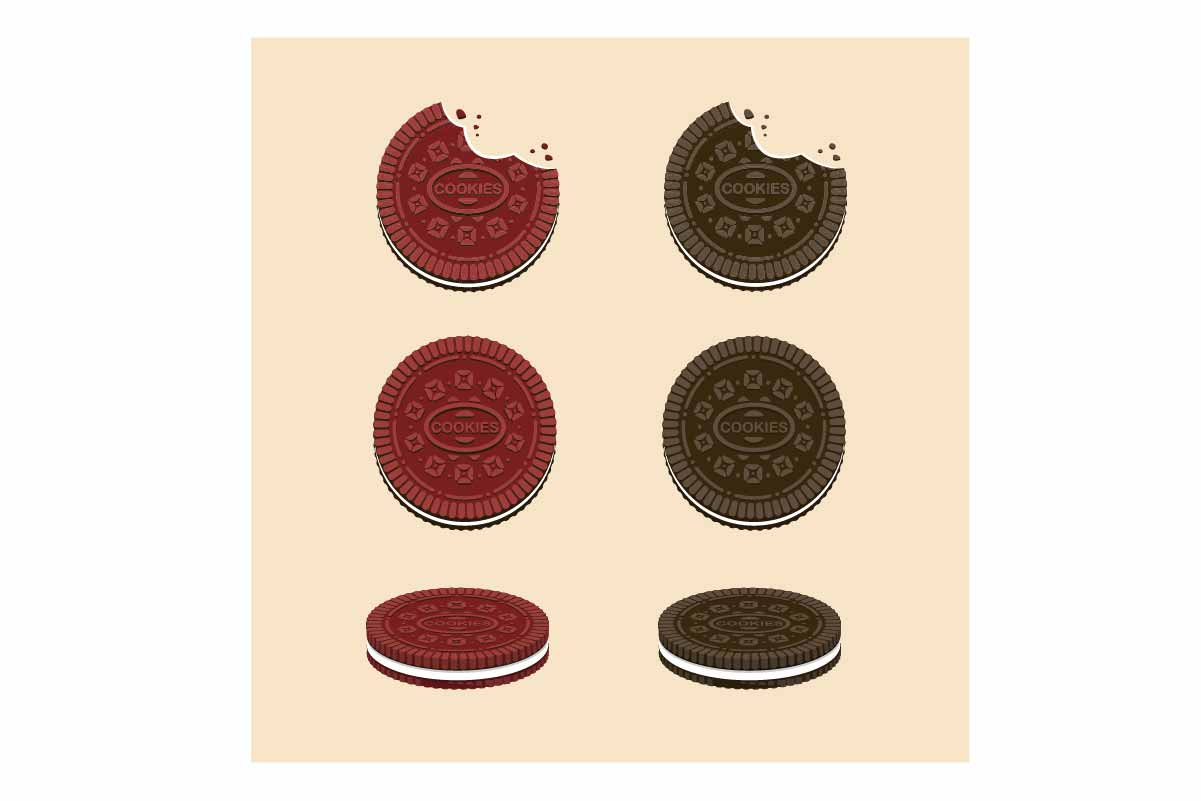 Download Free Oreo Cookies Chocolate And Red Velvet Grafico Por Aryo Hadi for Cricut Explore, Silhouette and other cutting machines.