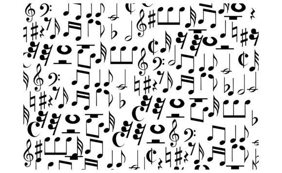 Download Free Paper Wrap With Theme Music Note Pillow Graphic By Arsa Adjie SVG Cut Files