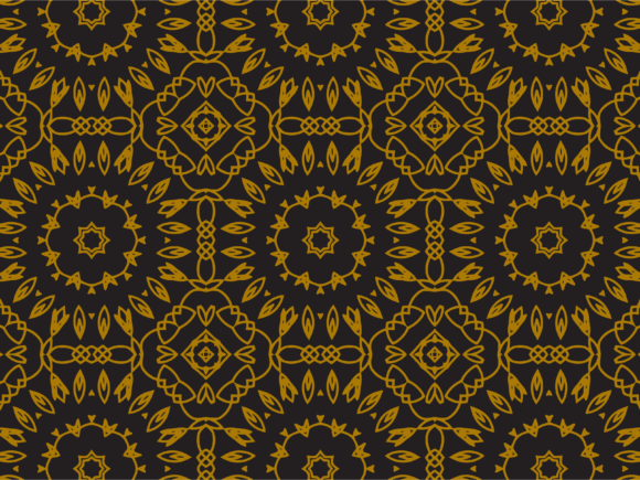 Download Free Pattern Gold Large Sunflowers Graphic By Silkymilkycreative for Cricut Explore, Silhouette and other cutting machines.