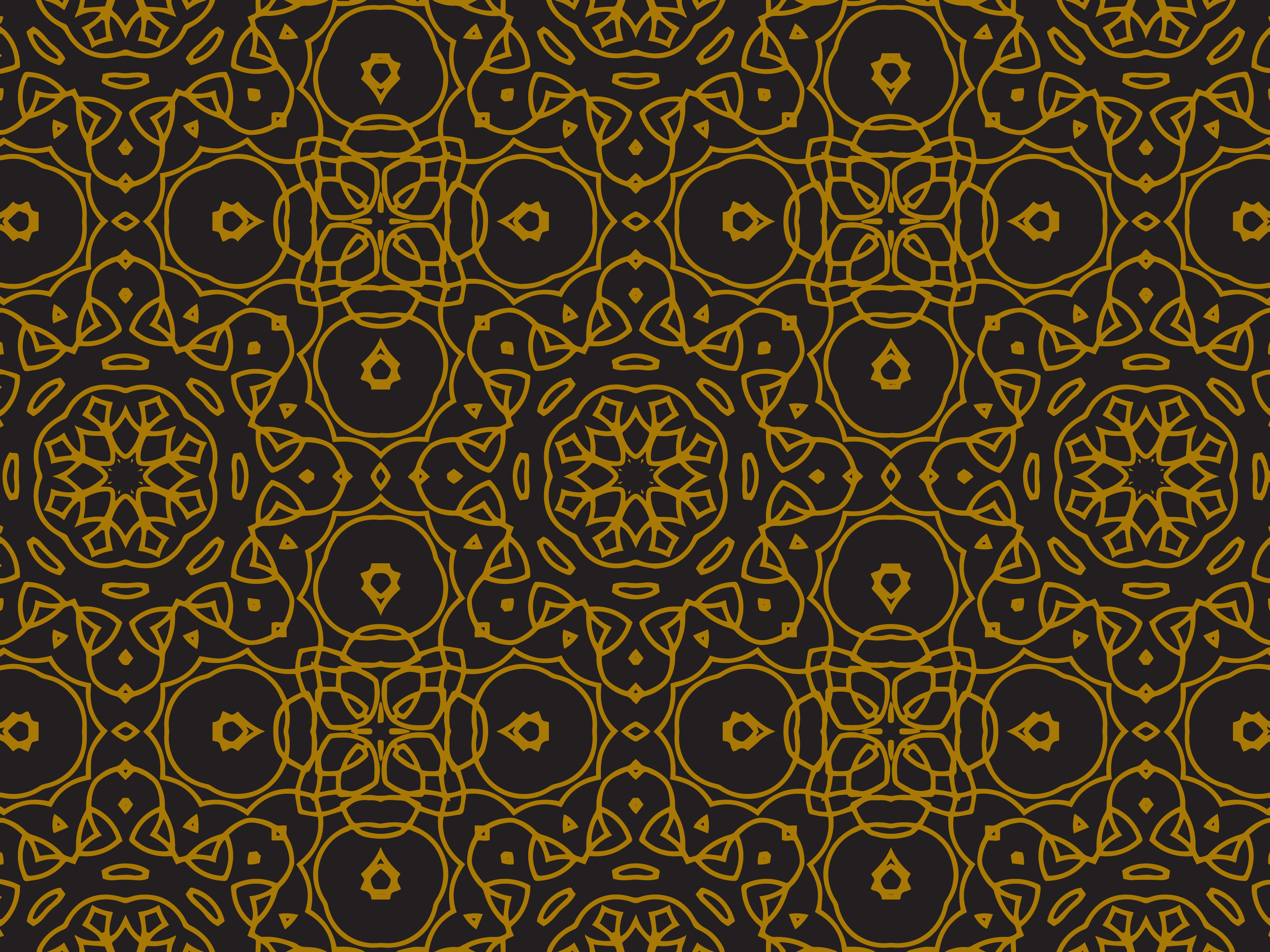Download Free Pattern Gold Luxury Ornaments Graphic By Silkymilkycreative for Cricut Explore, Silhouette and other cutting machines.