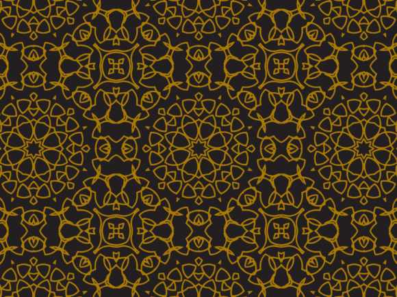 Download Free Pattern Luxurious Regular Circle Style Graphic By for Cricut Explore, Silhouette and other cutting machines.