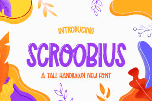 Print on Demand: Scroobius Display Font By Salt & Pepper Designs