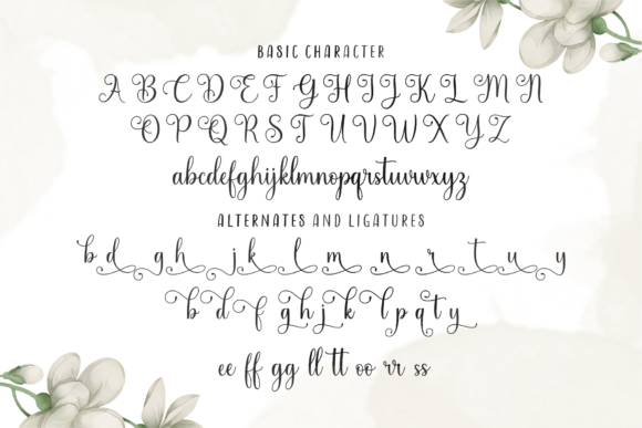 Print on Demand: Sindentosa Script & Handwritten Font By MJB Letters - Image 10
