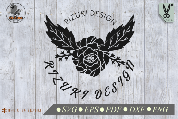 Download Free Single Rose Silhouette Graphic By Rizuki Store Creative Fabrica for Cricut Explore, Silhouette and other cutting machines.