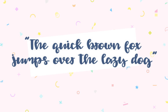 Print on Demand: Sprinkle Script & Handwritten Font By dixietypeco - Image 3