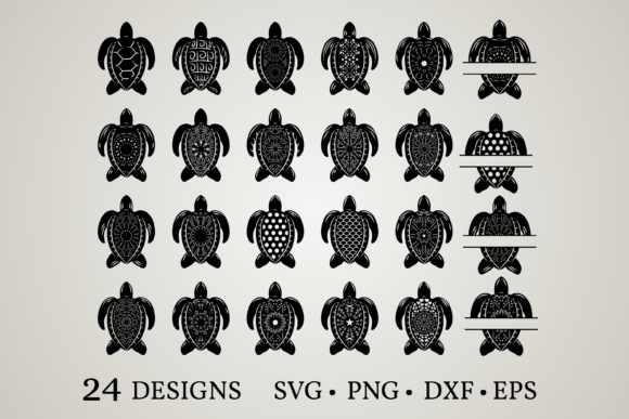 Download Free 17 Turtle Svg Designs Graphics for Cricut Explore, Silhouette and other cutting machines.