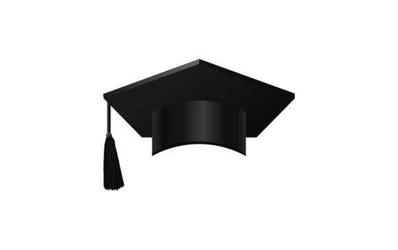 Graduation Cap Vector Graphic Graphic Templates By ngabeivector