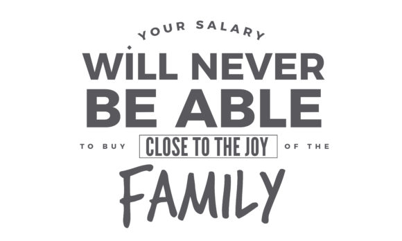 Download Free The Joy Of The Family Graphic By Baraeiji Creative Fabrica for Cricut Explore, Silhouette and other cutting machines.