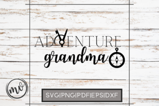 Download Free Adventure Grandma File For Cricut Graphic By Mockup Venue for Cricut Explore, Silhouette and other cutting machines.