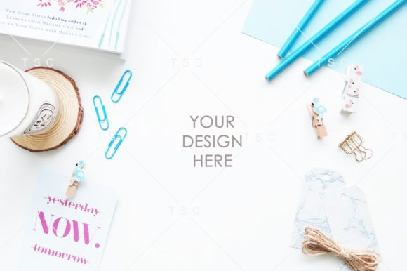 Blue Styled Desktop Photo Graphic Arts & Entertainment By thesundaychic - Image 1