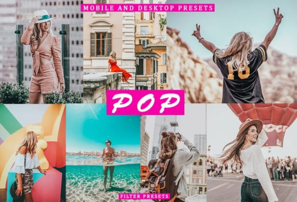 Cinematic POP Lightroom Presets Graphic Actions & Presets By Thiago Vibesp Creative