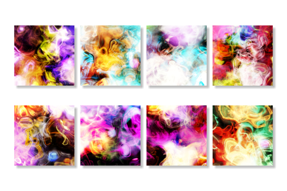 Print on Demand: Electricity Abstract Light Background Graphic Backgrounds By Prawny - Image 3