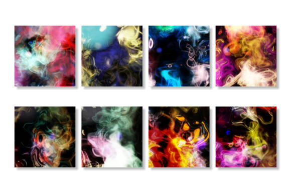 Print on Demand: Electricity Abstract Light Background Graphic Backgrounds By Prawny - Image 4