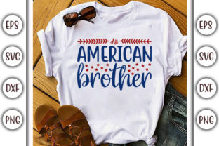 Print on Demand: Fourth of July Design, All American Graphic Print Templates By GraphicsBooth