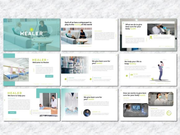 Healer - Medicine PowerPoint Template Graphic Presentation Templates By Yumnacreative - Image 2