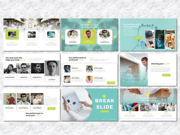 Healer - Medicine PowerPoint Template Graphic Presentation Templates By Yumnacreative - Image 4