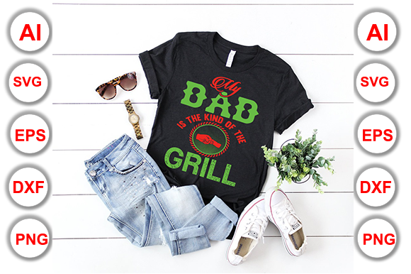 Download Free Papa T Shirt Graphic By Graphics Cafe Creative Fabrica for Cricut Explore, Silhouette and other cutting machines.