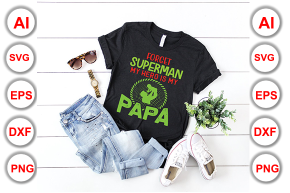 Download Free Papa T Shirt Print Ready Vector Files Graphic By Graphics for Cricut Explore, Silhouette and other cutting machines.