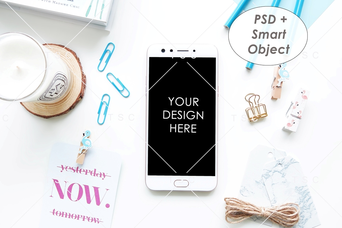 Download Free Phone Mockup Graphic By Thesundaychic Creative Fabrica for Cricut Explore, Silhouette and other cutting machines.