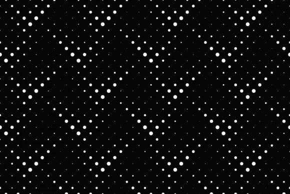Download Free Seamless Black And White Dot Pattern Graphic By Davidzydd for Cricut Explore, Silhouette and other cutting machines.