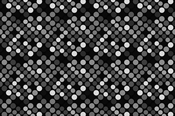 Download Free Seamless Grey Dot Pattern Graphic By Davidzydd Creative Fabrica for Cricut Explore, Silhouette and other cutting machines.