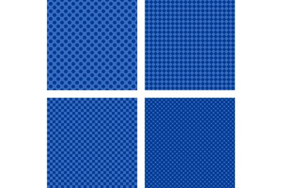4 Simple Blue Backgrounds Graphic Backgrounds By davidzydd