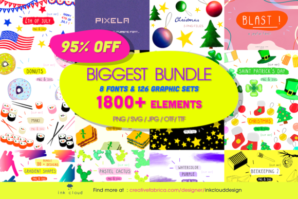 Print on Demand: All Store Bundle  By Inkclouddesign
