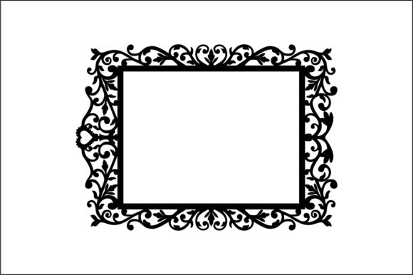 Decorative Frames Vector Graphic Product Mockups By bn3300877