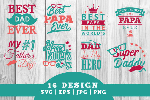 Download Free Father S Day Bundle Graphic By Damasyp Creative Fabrica for Cricut Explore, Silhouette and other cutting machines.