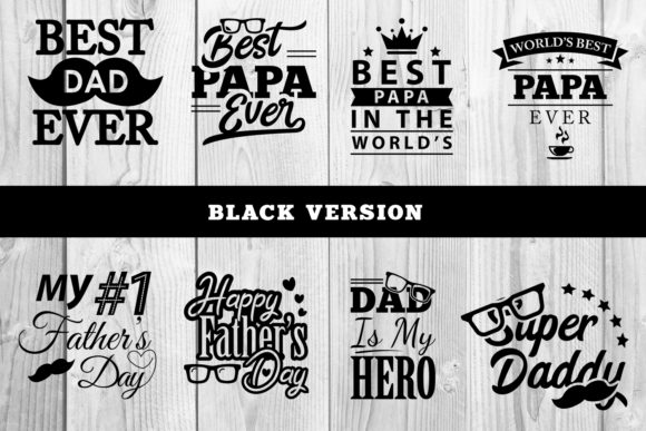 Father S Day Bundle Graphic By Damasyp Creative Fabrica
