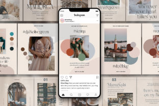Print on Demand: #InstaFlow Carousel Posts & Stories Graphic Websites By SilverStag