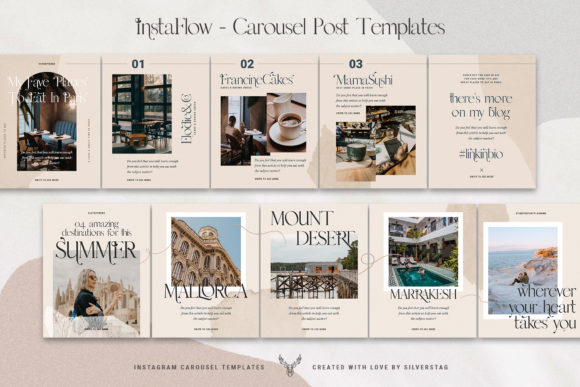 Download Free Instaflow Carousel Posts Stories Graphic By Silverstag for Cricut Explore, Silhouette and other cutting machines.