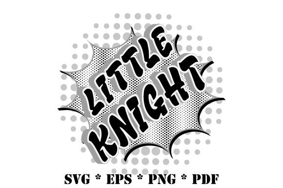 Download Free Little Knight Speech Bubble Graphic By Graphicsfarm Creative for Cricut Explore, Silhouette and other cutting machines.