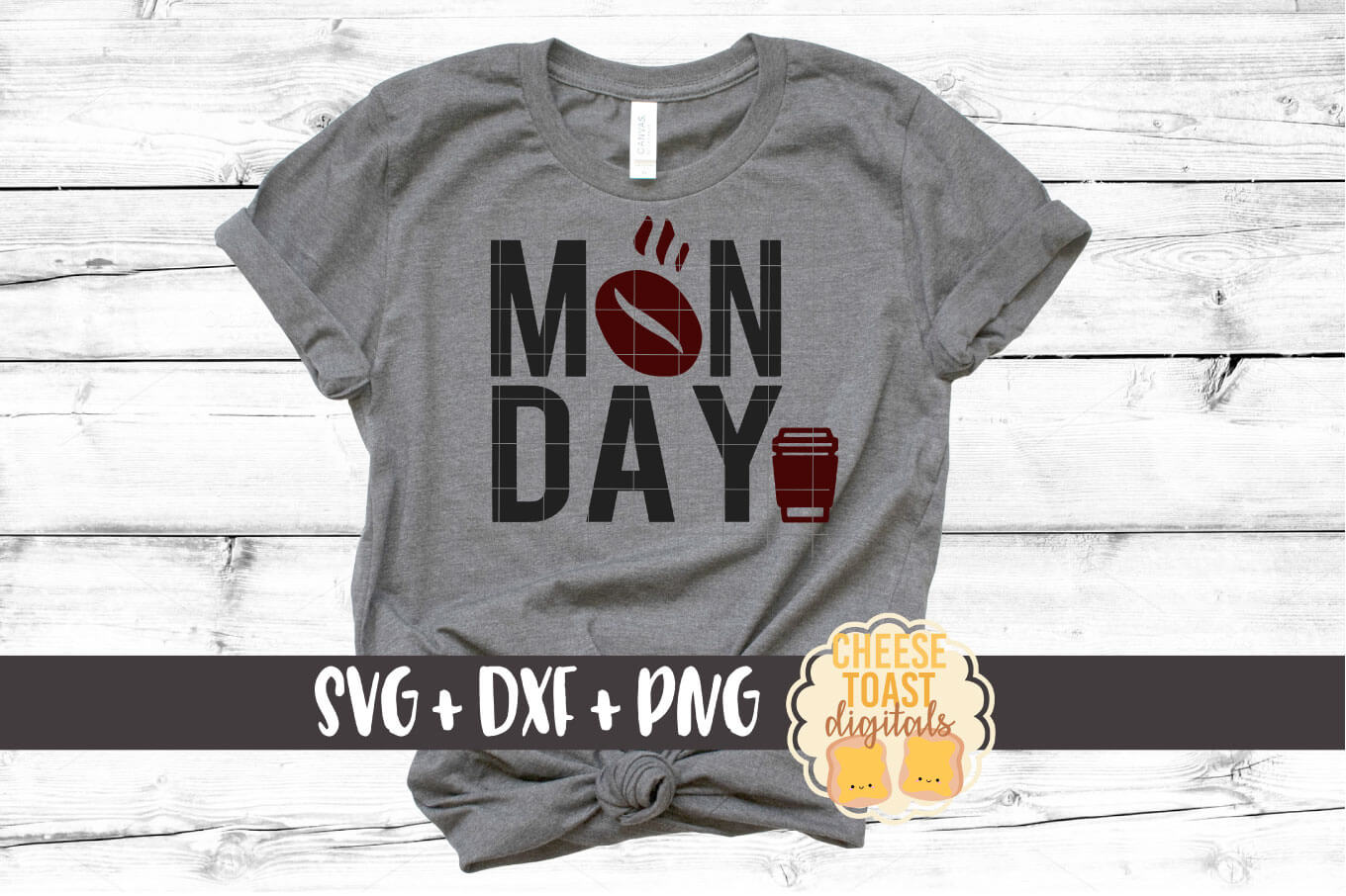 Download Free Monday Coffee Graphic By Cheesetoastdigitals Creative Fabrica for Cricut Explore, Silhouette and other cutting machines.