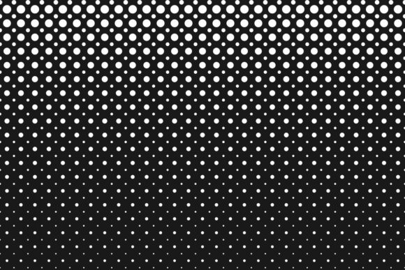 Download Free Monochrome Geometrical Halftone Pattern Graphic By Davidzydd for Cricut Explore, Silhouette and other cutting machines.