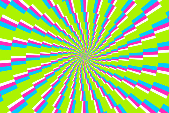 Print on Demand: Optical Illusion Graphic Backgrounds By Miss Chatz