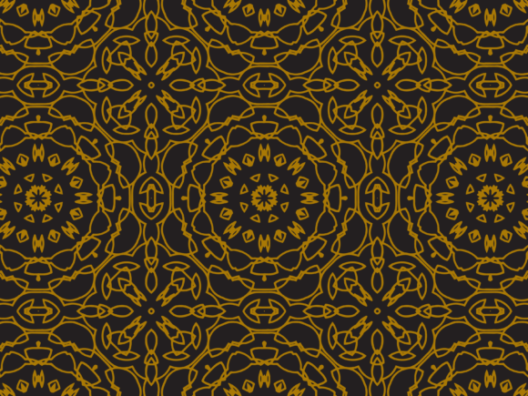 Pattern Abstract Ornament Lines Motif Graphic By