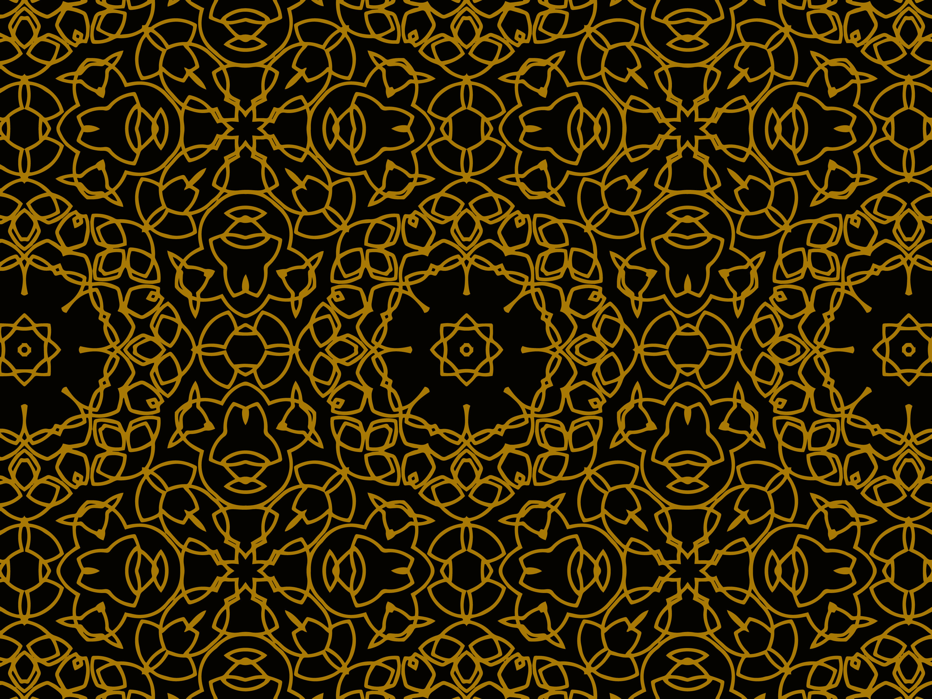 Download Free Pattern Gold Luxurious Abstract Circles Graphic By for Cricut Explore, Silhouette and other cutting machines.